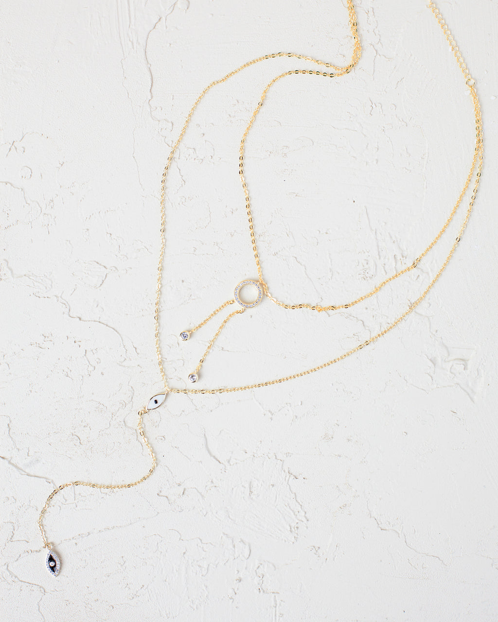 Olivia Layered Y-Necklace