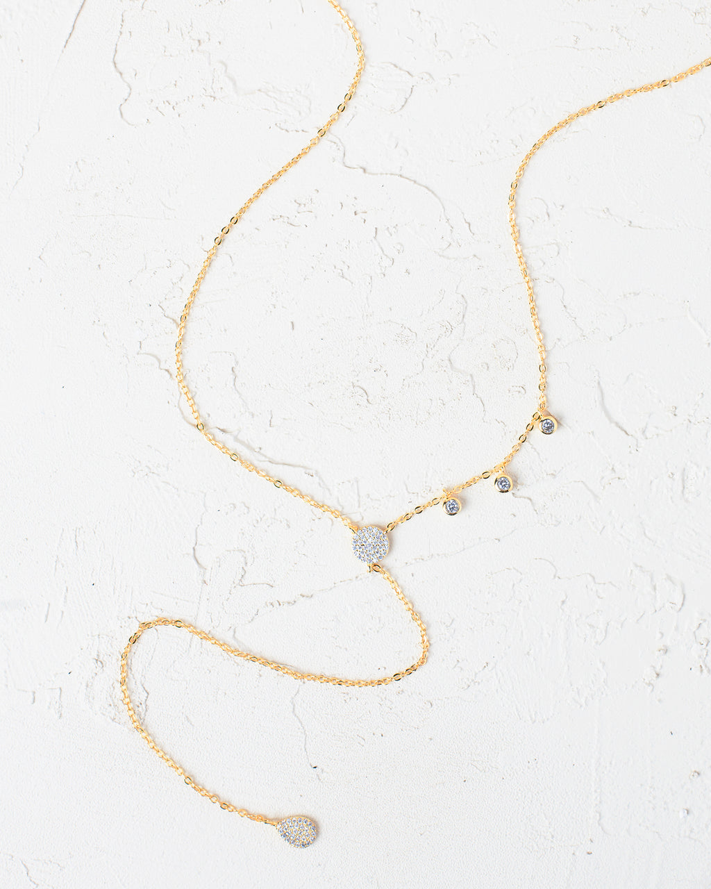 Adella Y-Shape Necklace