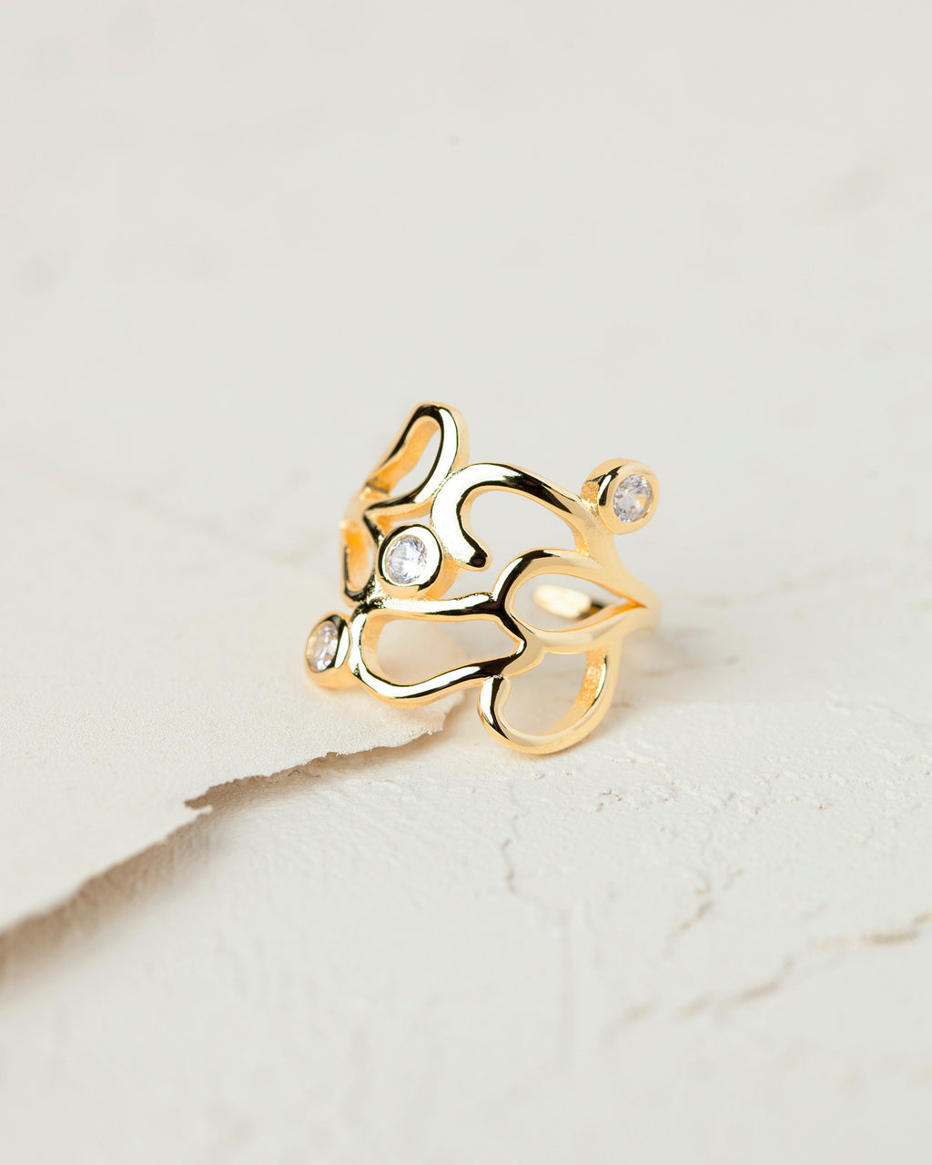 Art Deco Design Ring
