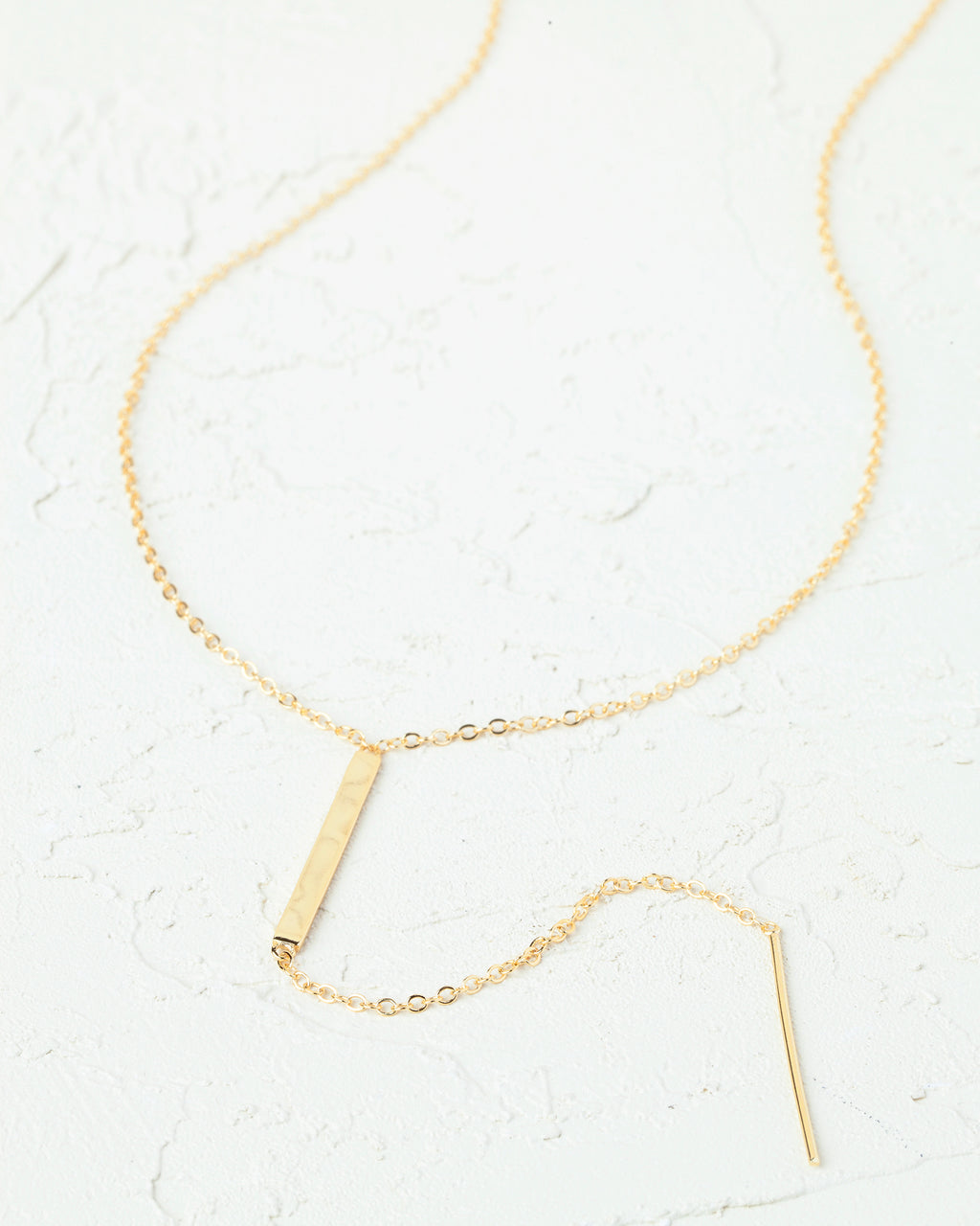 Emelie Bar Necklace