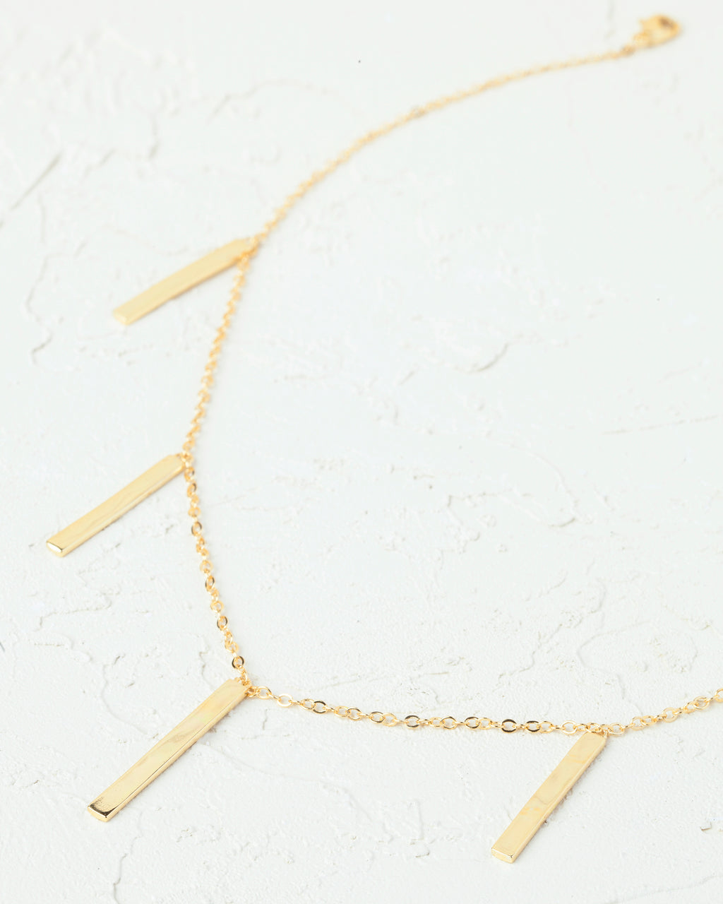 Ellie Bar Collar Necklace