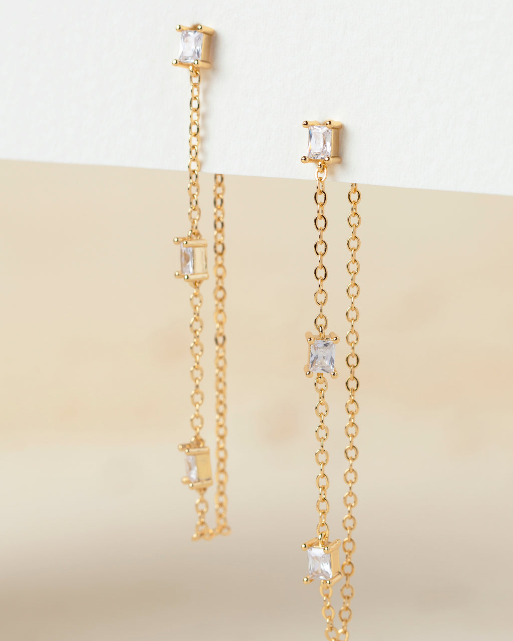 Kora Chain Stud Earrings