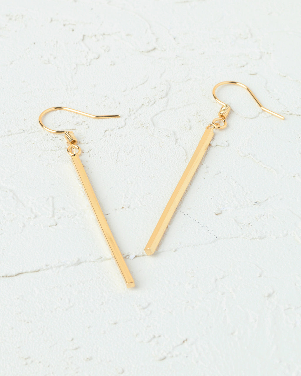 Maddie Stick Linear Drop Earrings