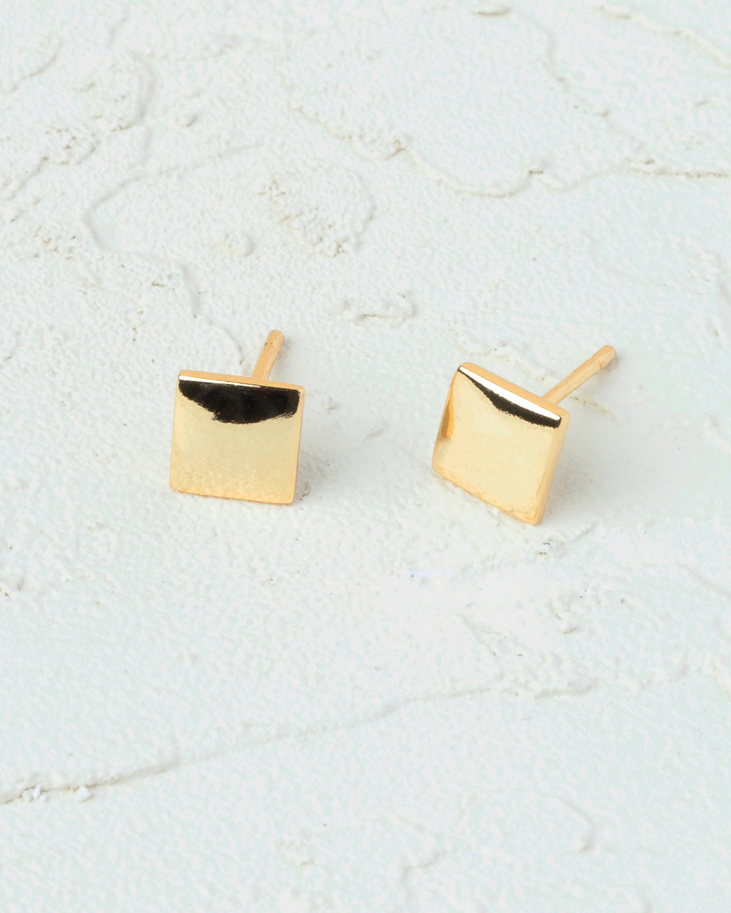 Kaia Square Stud Earrings
