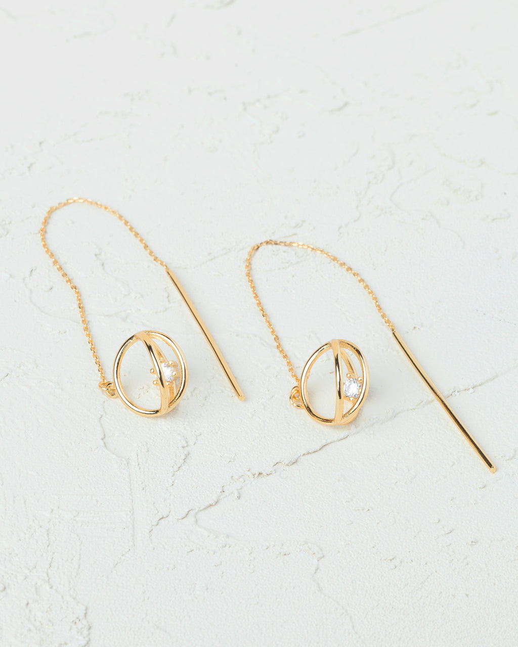 Ibiza Threader Earrings