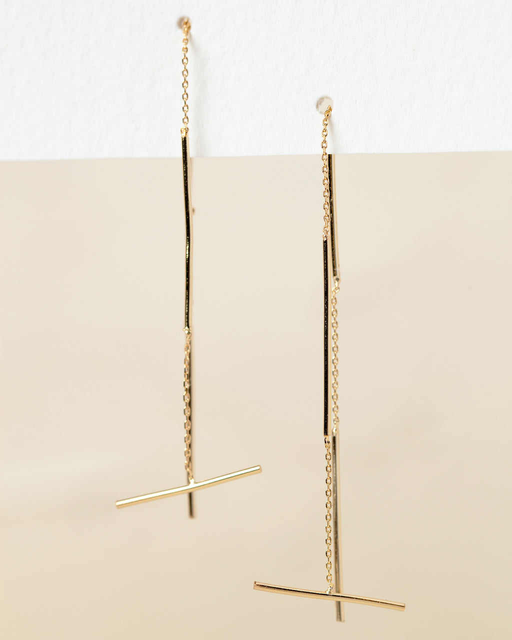 Dixie Bar Threader Earrings