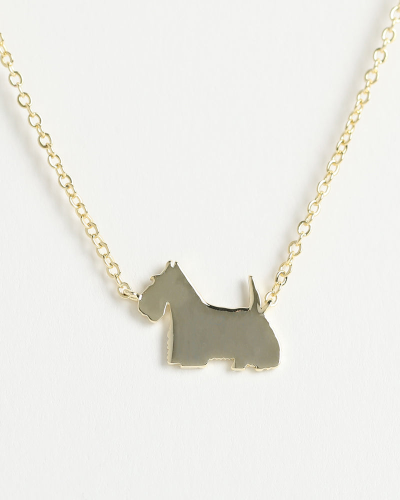 SCOTTISH TERRIER  Delicate Necklace
