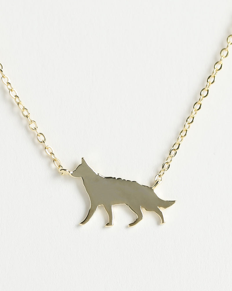 GERMAN SHEPHERD Delicate Necklace