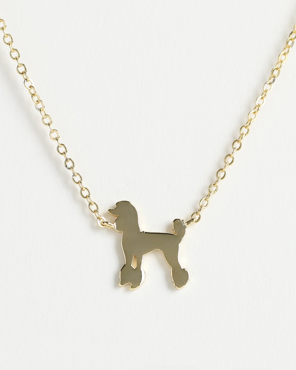 POODLE  Delicate Necklace