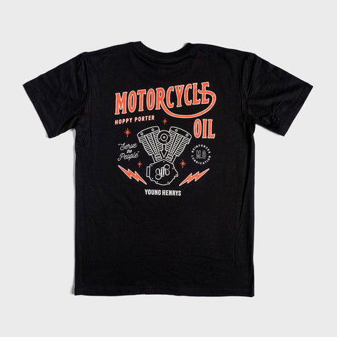 Motorcycle Oil Tshirt