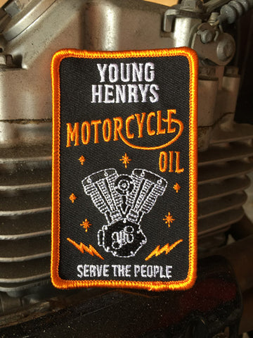 Motorcycle Oil Patch