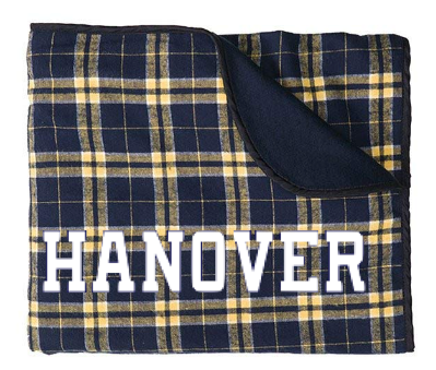 Blanket - Stadium - Navy/Gold