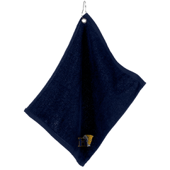Large Velour Golf Towel with Grommet and Clip