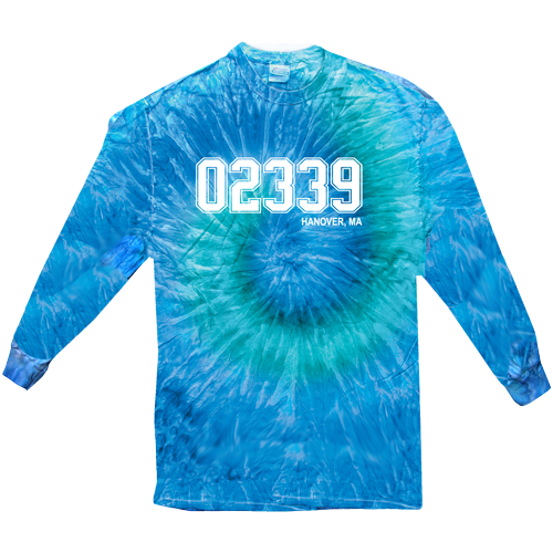 T-Shirt - Tie Dye - Long Sleeve - 02339 Hanover, MA - Adult/Youth
