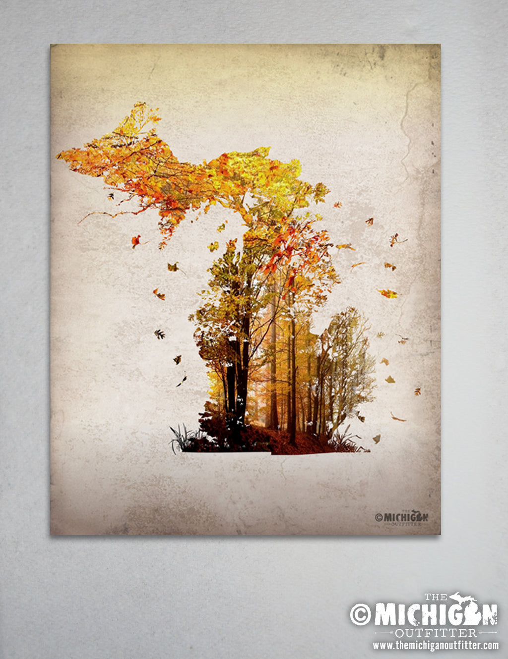 "8"" x 10"" Print - Autumn Leaves"