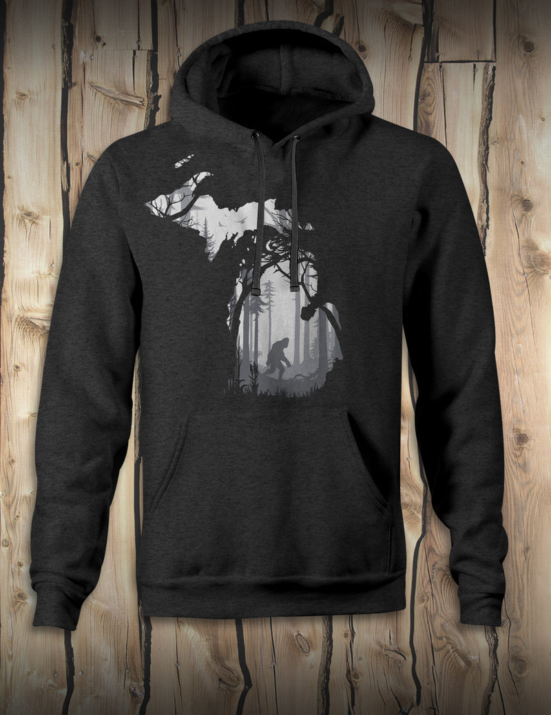 Bigfoot Forest - Hoodie - Black