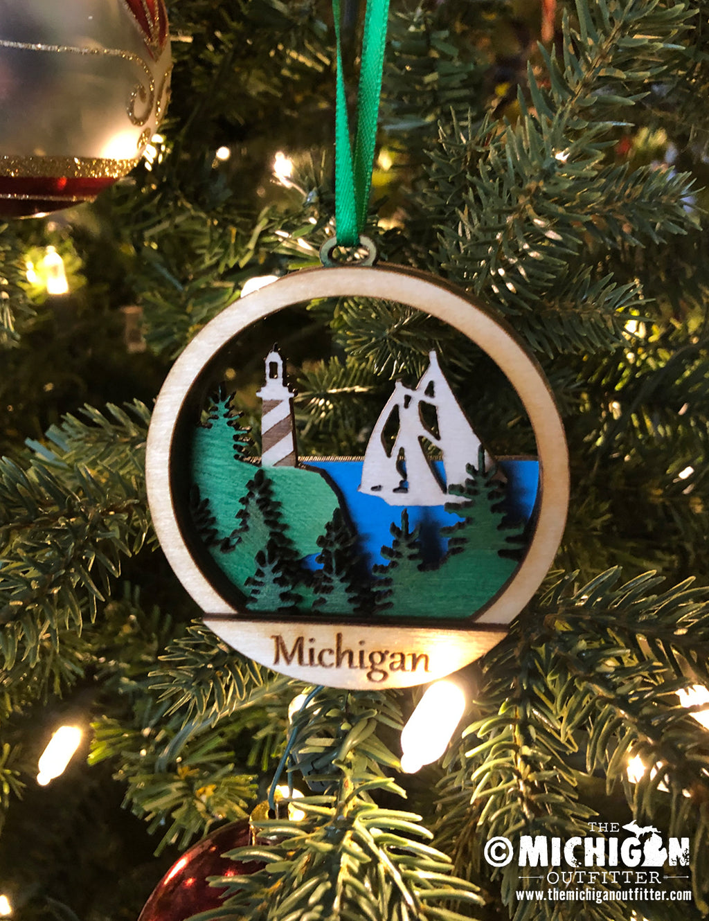 Wood Ornament - Sailboat