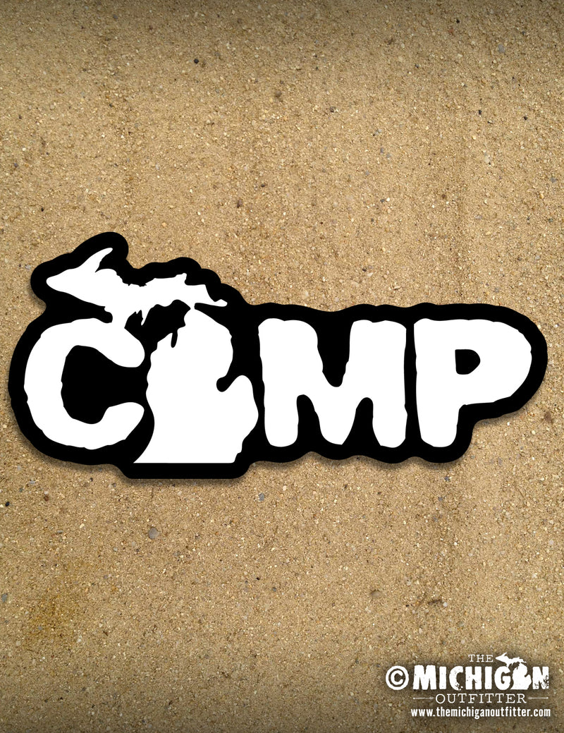 "7"" Sticker - Camp"