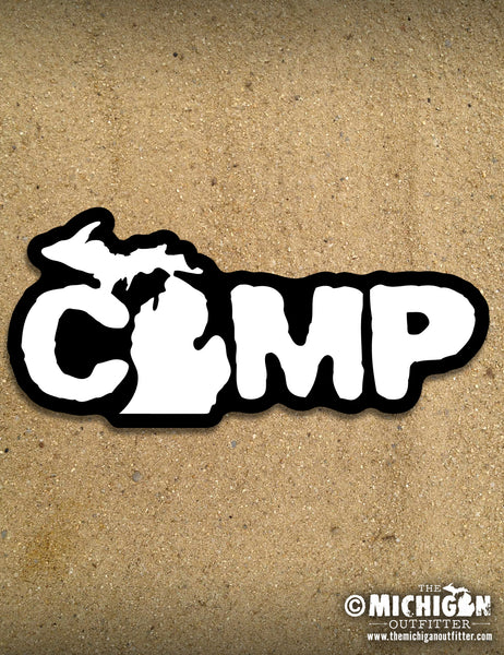 "6"" Sticker - Camp"