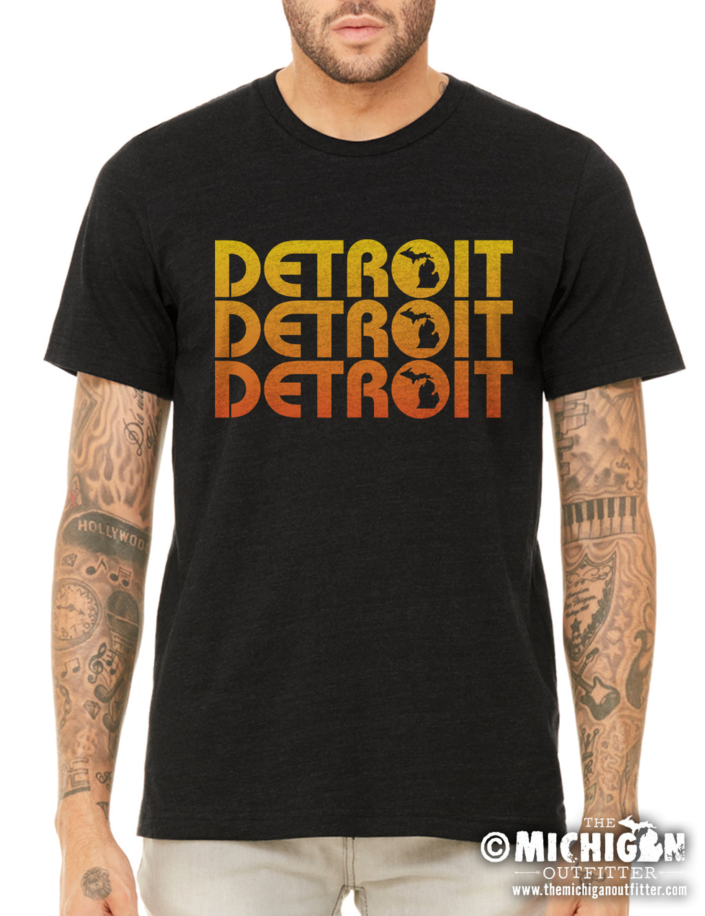 Detroit Repeat - Heather Black