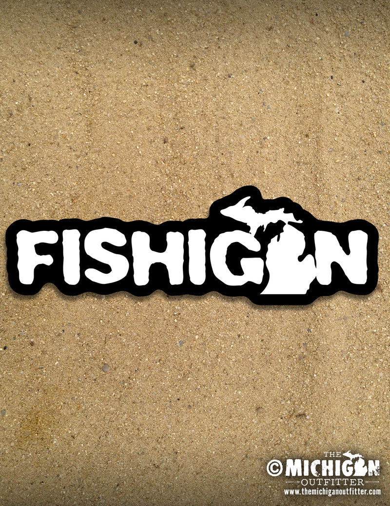 "7"" Sticker - Fishigan"
