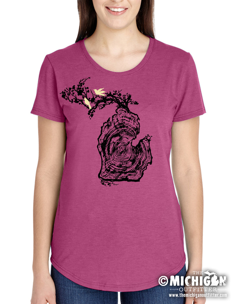 Log - Women's T-Shirt - Lush
