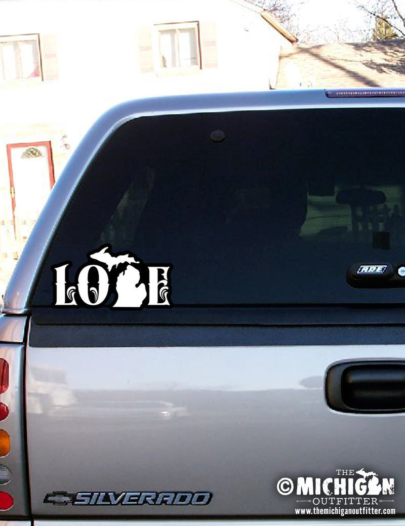 "7"" Sticker - Love"