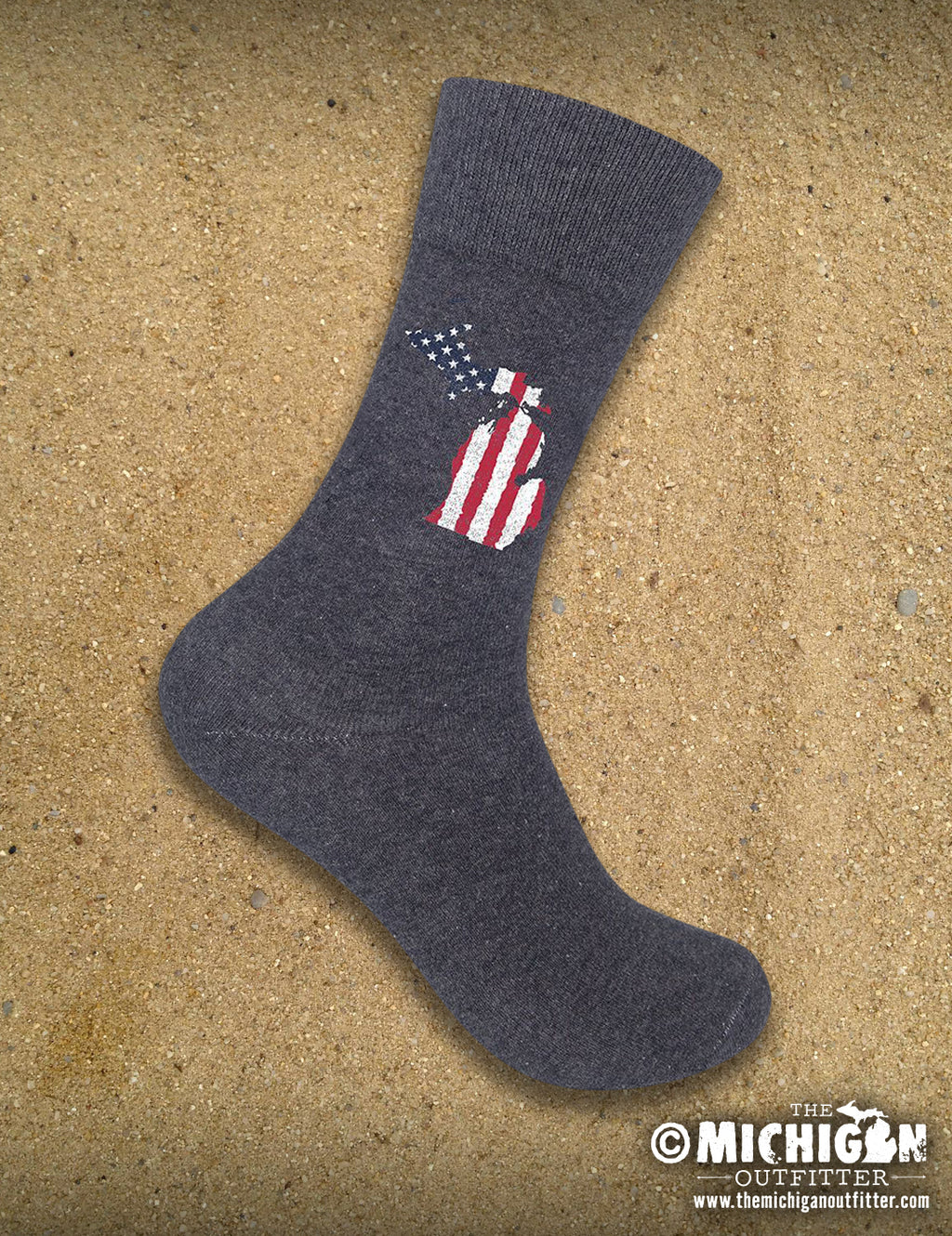 Socks - Michigan Old Glory