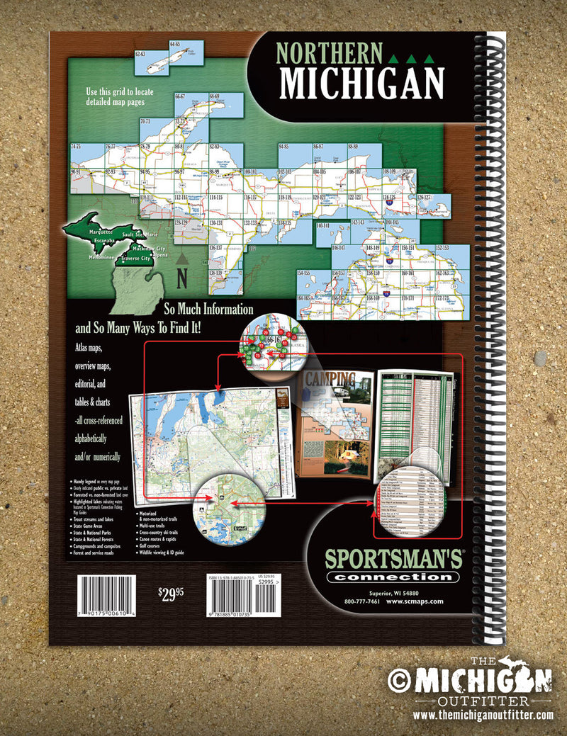 Northern Michigan All-Outdoors Atlas