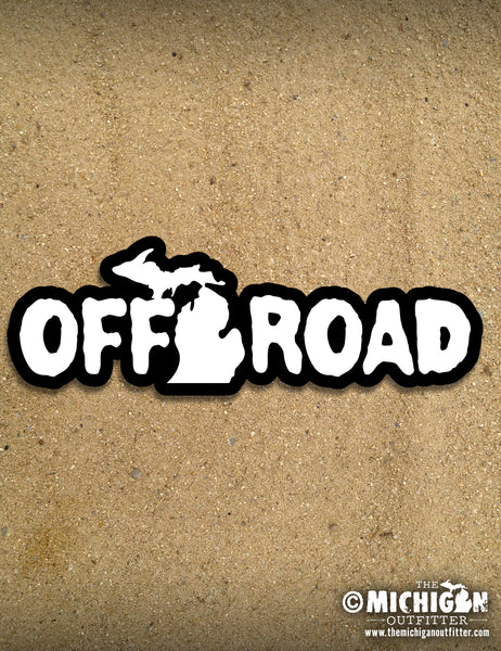 "6"" Sticker - Off Road"