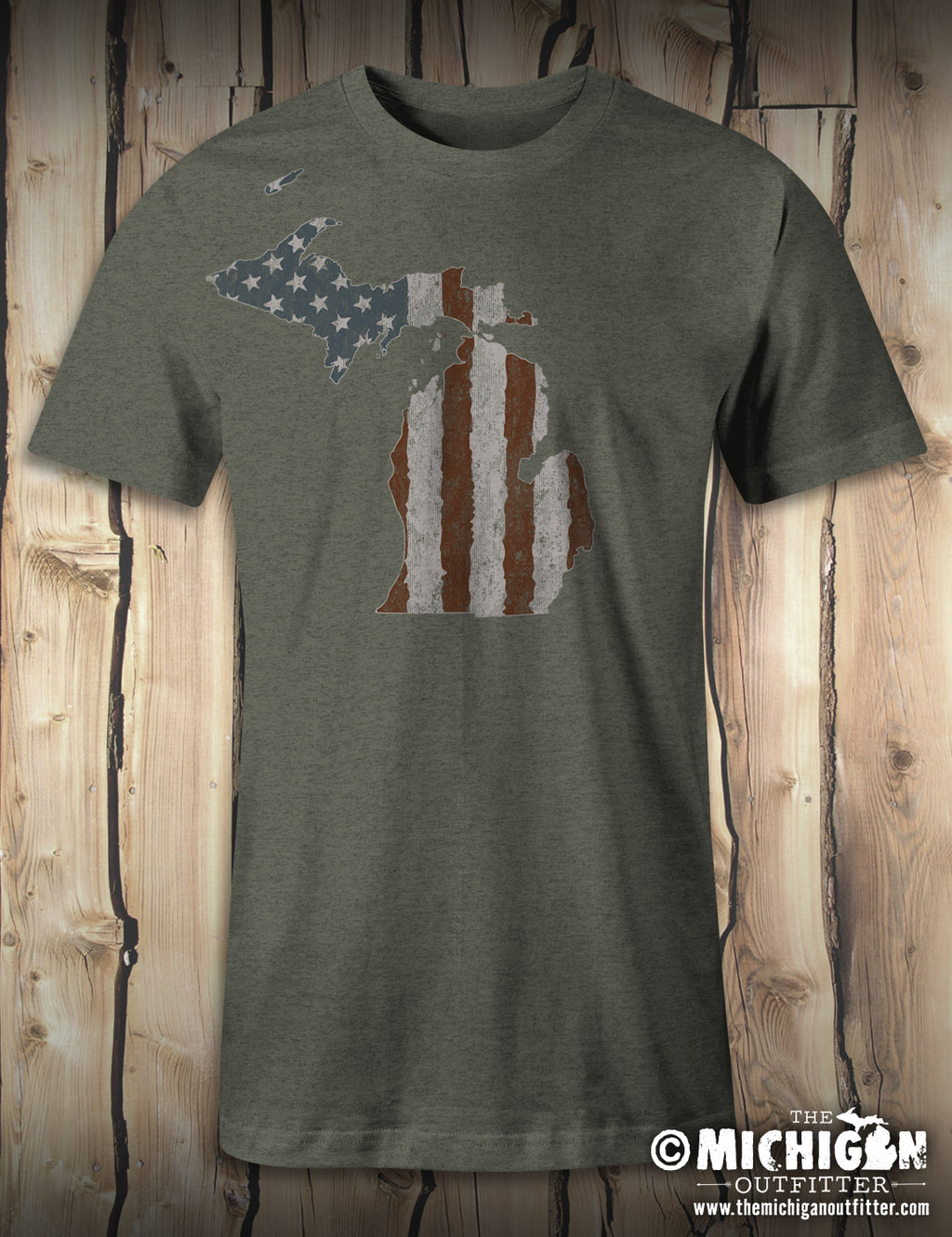 Old Glory - Heather Military Green