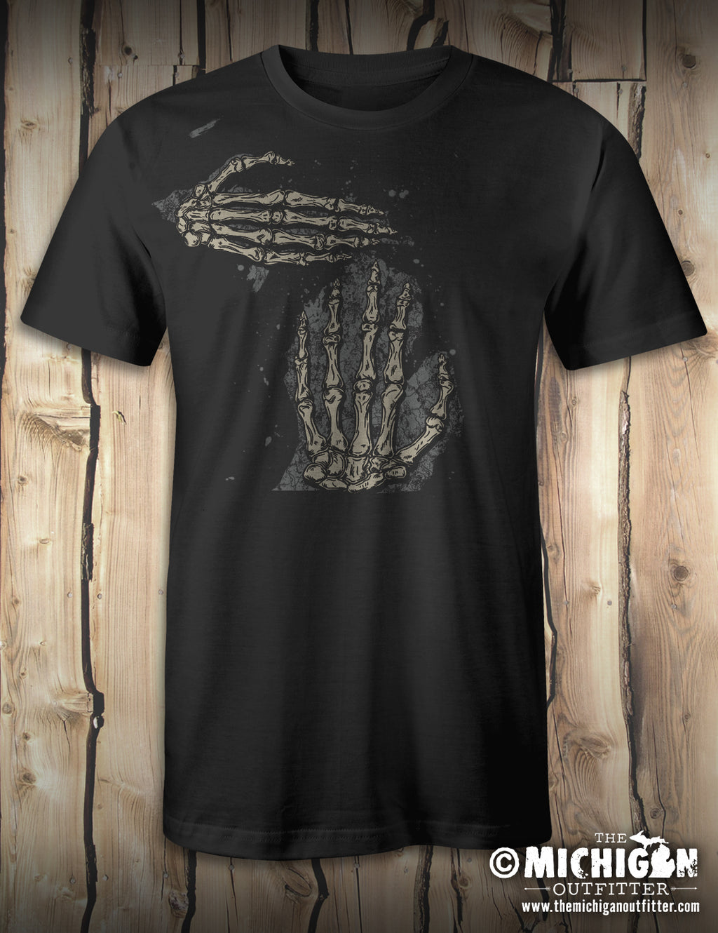 Skeleton Hand - Vintage Black