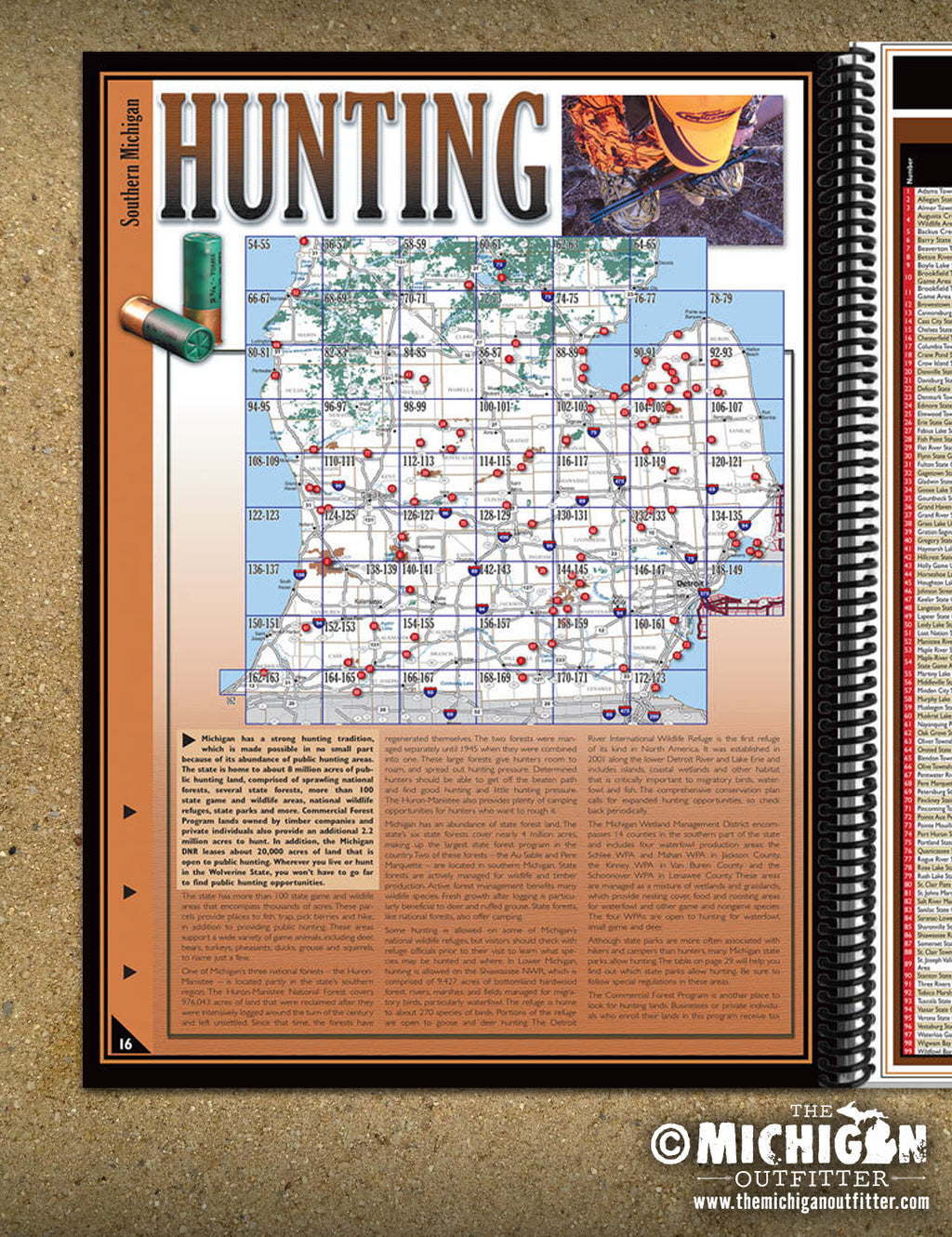 Southern Michigan All-Outdoors Atlas