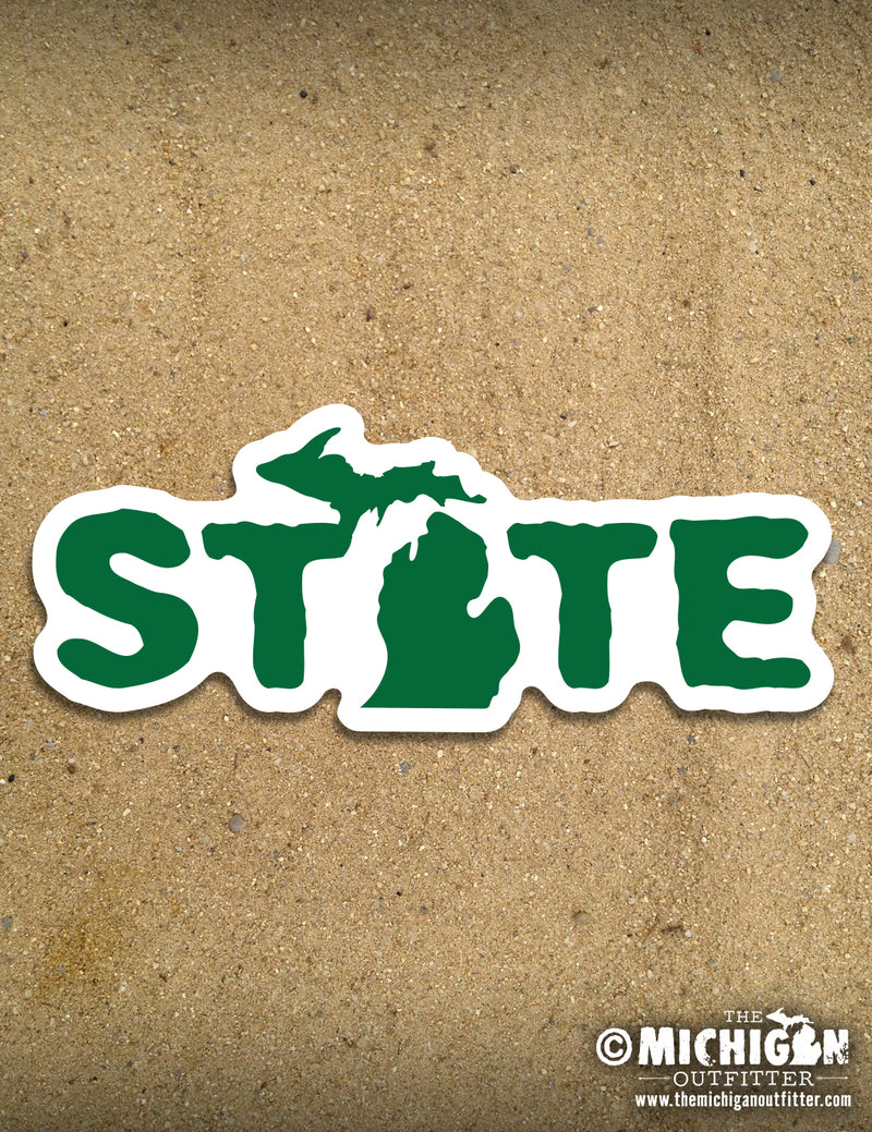 Michigan Decal - Fishigan