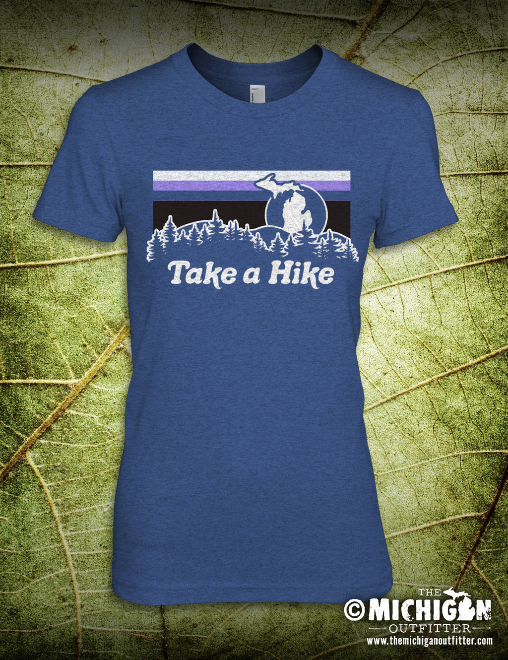 Take A Hike - Heather Blue