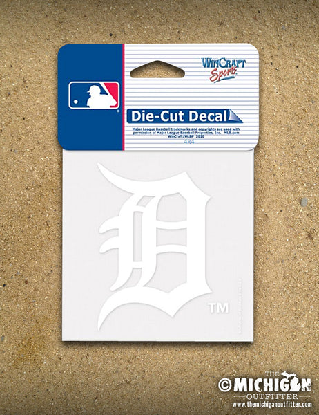 "Detroit Tigers ""Old English D""  Decal"