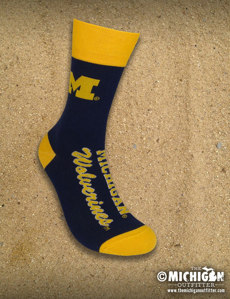 Socks - U of M - Wolverines
