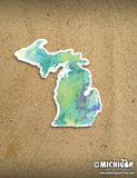 Michigan Magnet - Watercolor