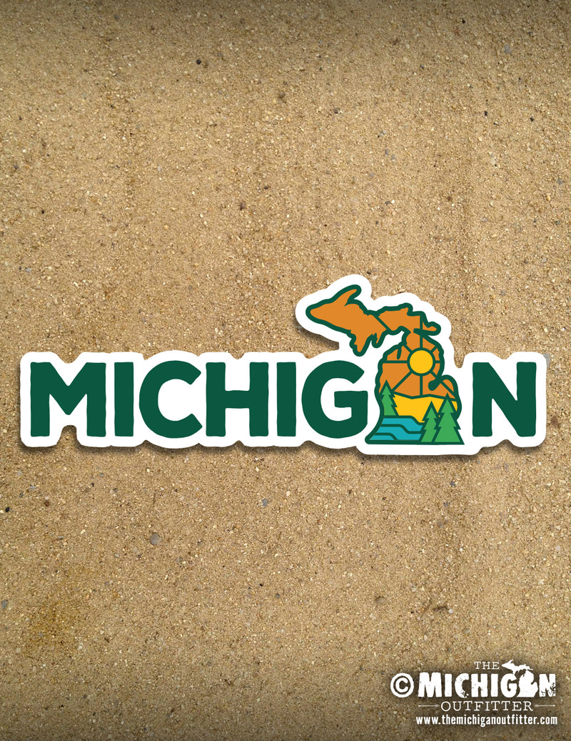 Michigan State University Decal