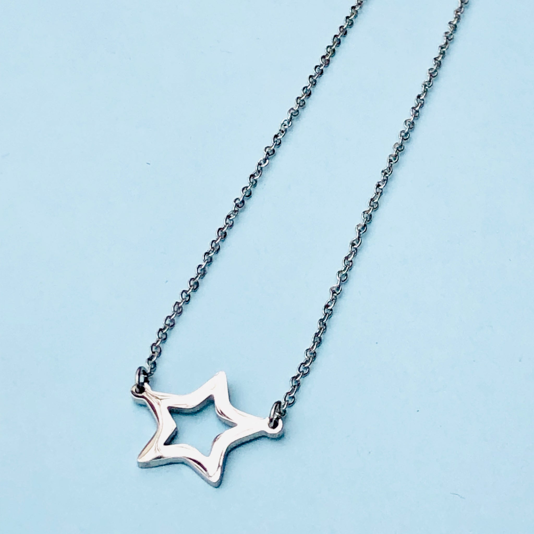 Large Star necklace