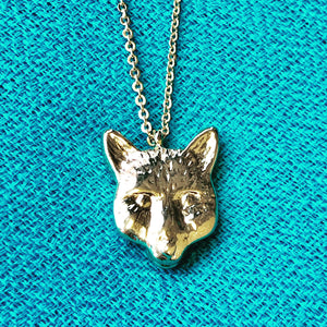 Fox necklace large