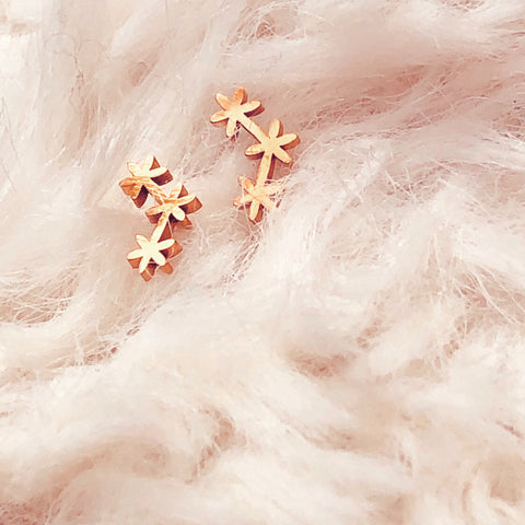 Star Cluster Stud Earrings