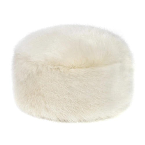 Helen Moore Ermine Pillbox Hat