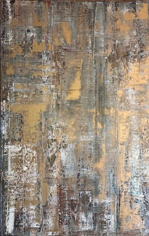 "Golden Concrete 24""x 38"""