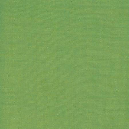 Moda Cross Weave Green Yellow - Lady Belle Fabric
