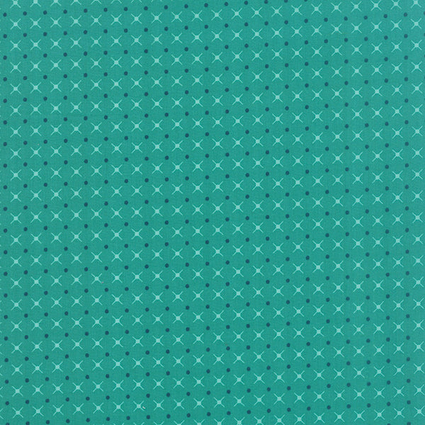 Simply Colorful II Teal 10855 17 by V and Co. for Moda - Lady Belle Fabric
