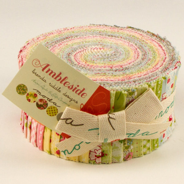 Ambleside by Brenda Riddle Acorn for Moda Jelly Roll - Lady Belle Fabric
