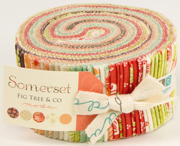 Moda Somerset Jelly Roll