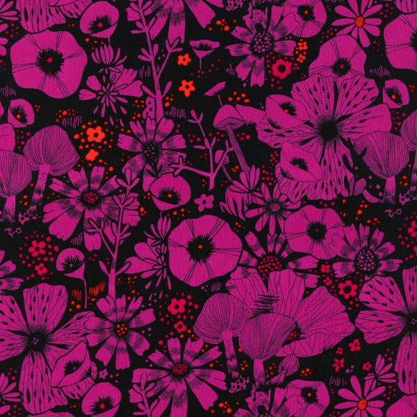 Purrfect Hiding Spot Purple Rayon By Sarah Watts For