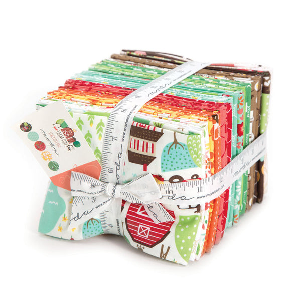 Farm Fun by Stacey Iest Hsu for Moda Fat Quarter Bundle